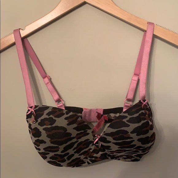 Betsey Johnson Other - Betsey Johnson leopard 🐆print bra!!!!